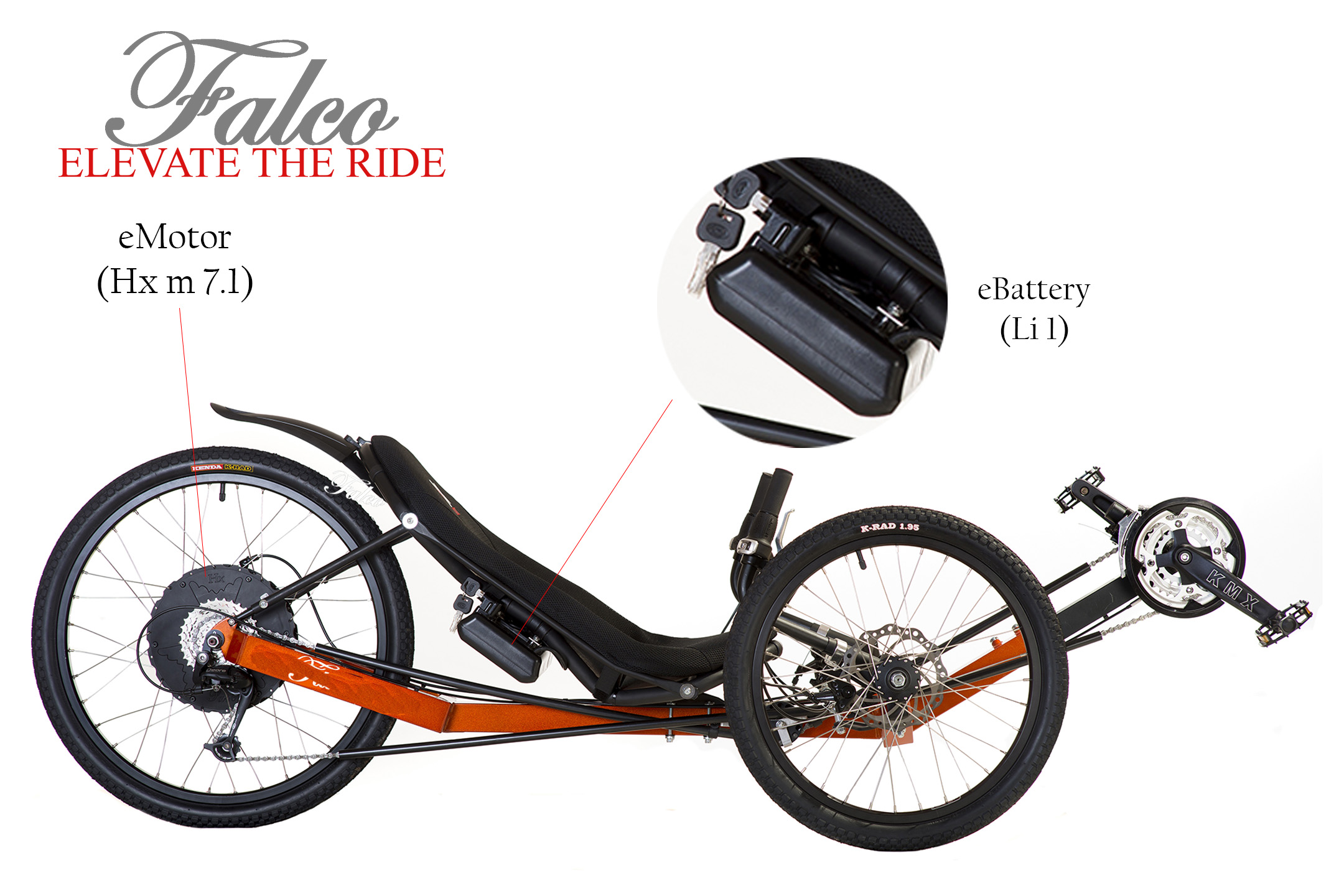 Adding Electric ist to your tadpole trike is a remarkably ... on